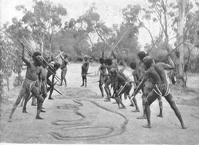 rituale del canguro